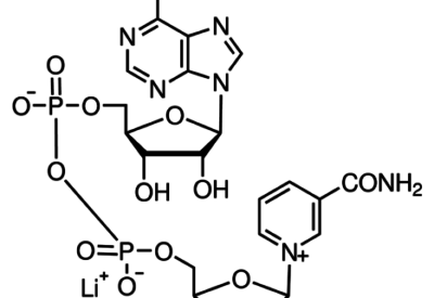 N6-((6-Aminohexyl)carbamoylmethyl)nicotinamide adenine dinucleotide, lithium salt