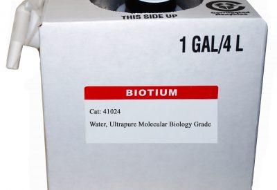 Water, Ultrapure Molecular Biology Grade, 4L Cubitainer